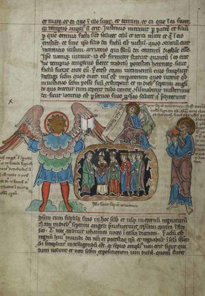 41v Great-Angel-interpreted-as-Emperor-Justin,-Seven-Thunders,-Pope--John-eating-book