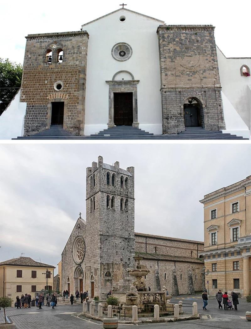 Алатри. Монастырь Сан-Франческо и церковь Санта-Мария-Маджоре