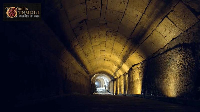 Тоннель тамплиеров в Акре