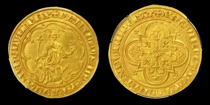 Золотой Филиппа Красивого