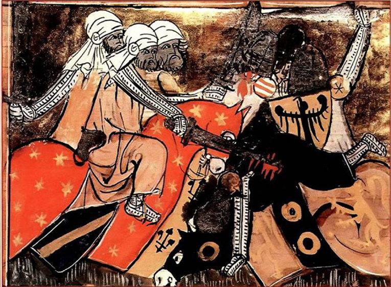 Хорезмийцы атакуют