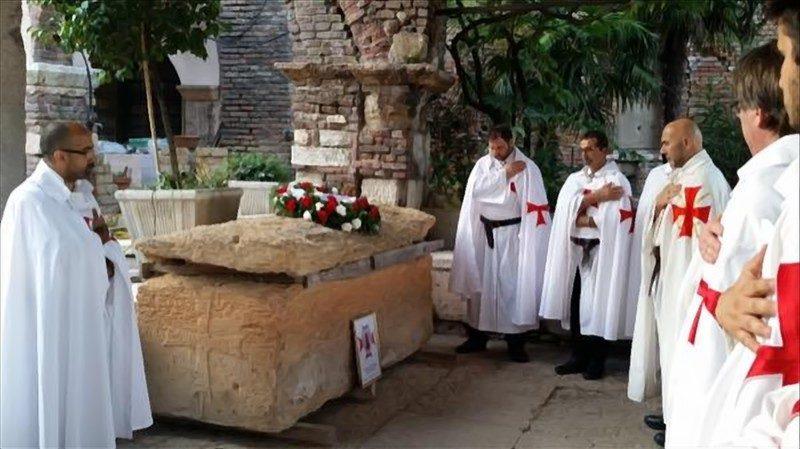 Близ Вероны найдено захоронение  одного из Великих Магистров Ордена Тампиеров