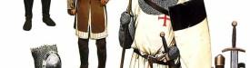 Вооружение тамплиеров 1170-1290