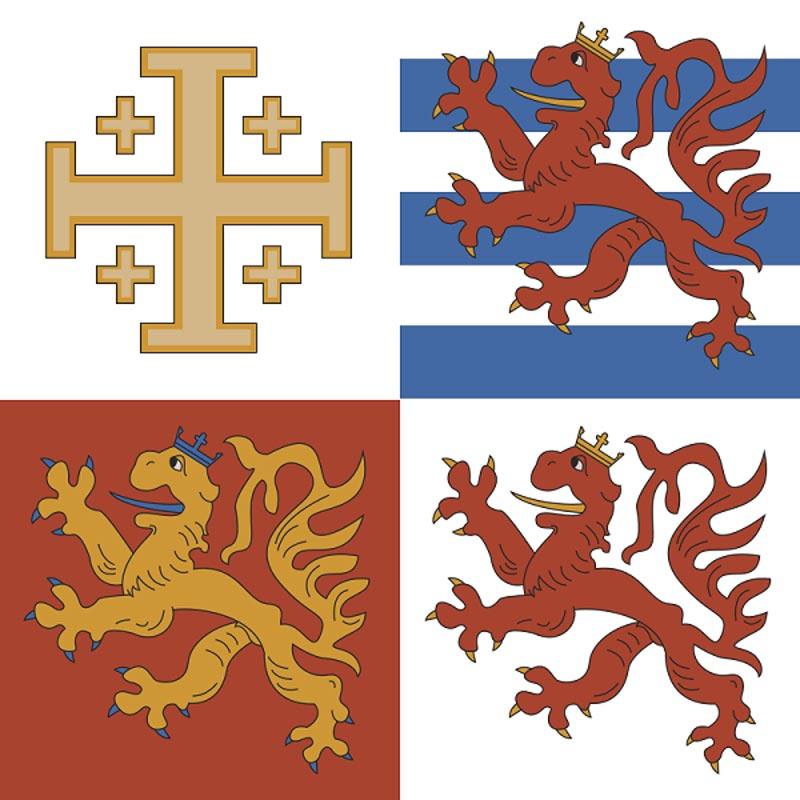 флаг королей Кипра