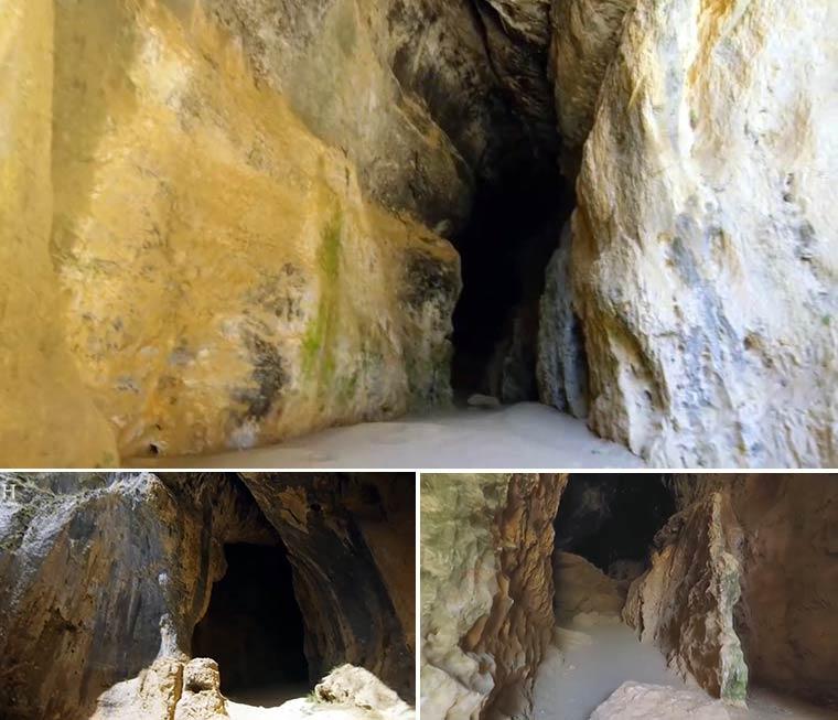 Пещеры каньона Рио Лобос
