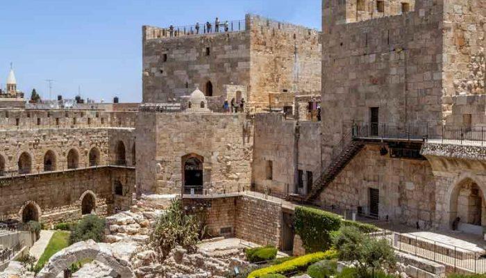 Башни цитадели в Иерусалиме