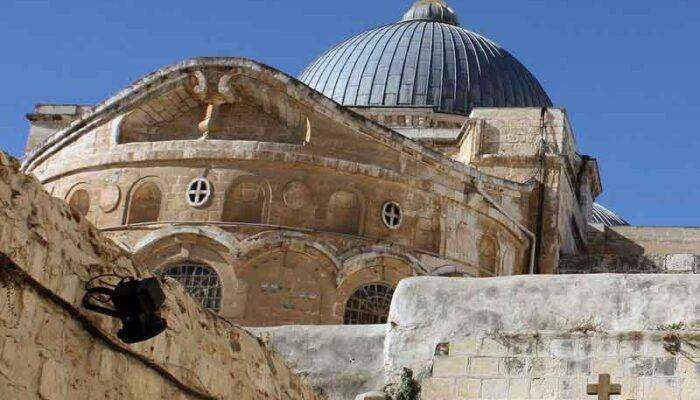 Тайна настенных крестов в Храме Гроба Господня разгадана