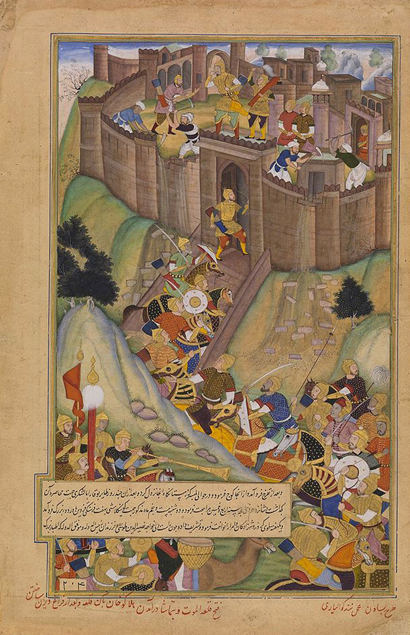 Хан Хубилай захватывает Аламут
