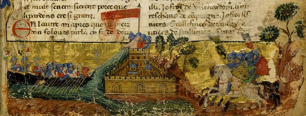 Осада Константинополя 1204 год
