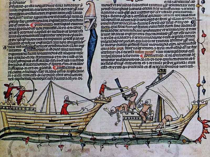 Корабли крестоносцев