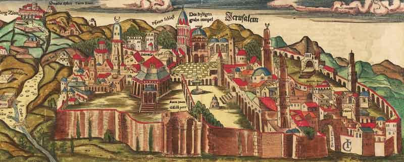 Вид старого Иерусалима