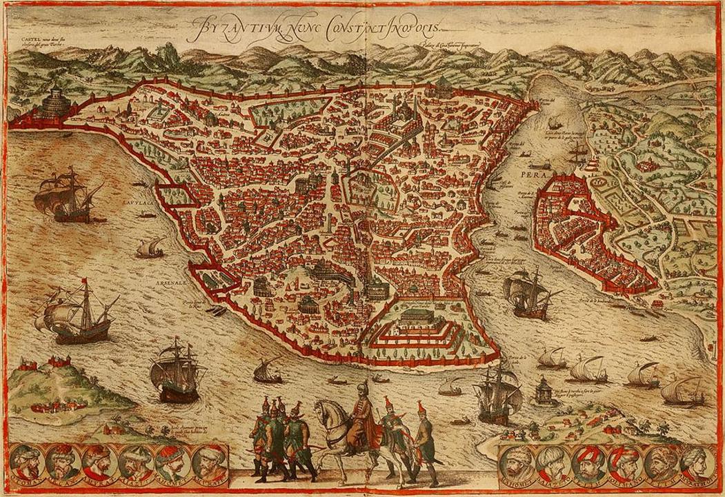 Карта Иерусалима XIII века