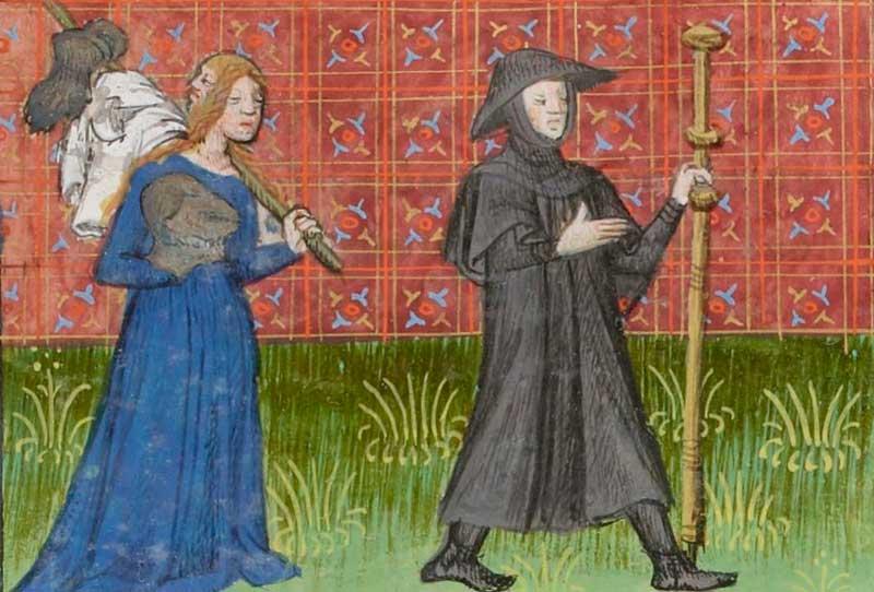 Средневековые пилигримы