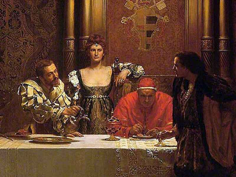 Климент V и графиня Перигор