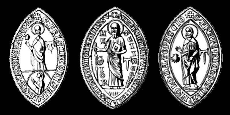 печати магистров ордена Тау