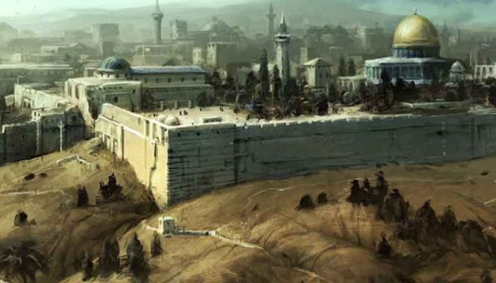 Храмовая гора и квартал тамплиеров