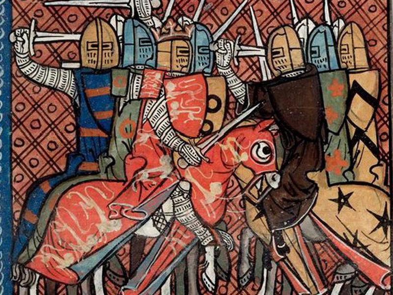 Про то, как тамплиеры  возглавили II крестовый поход