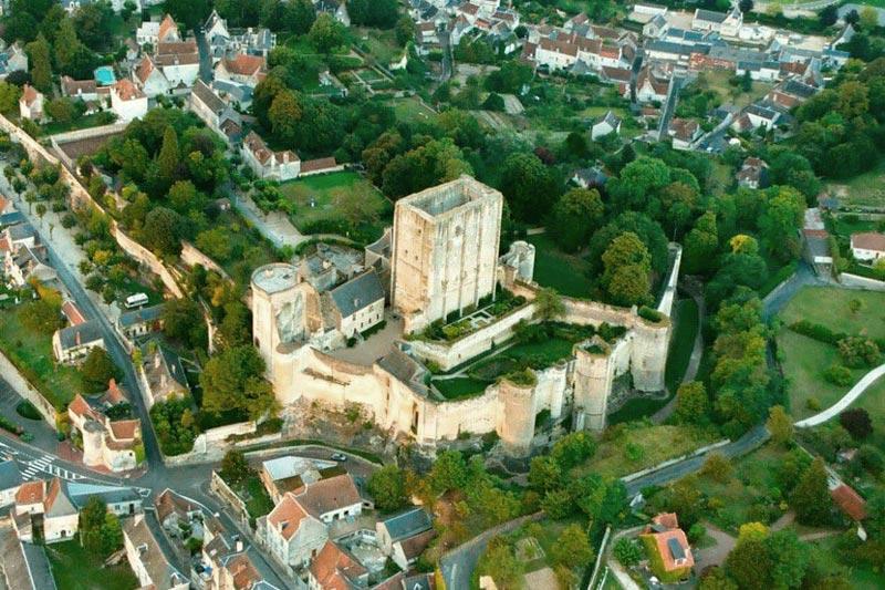 Замок Лош. Франция
